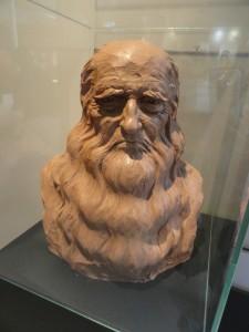 Buste de Leonard de Vinci